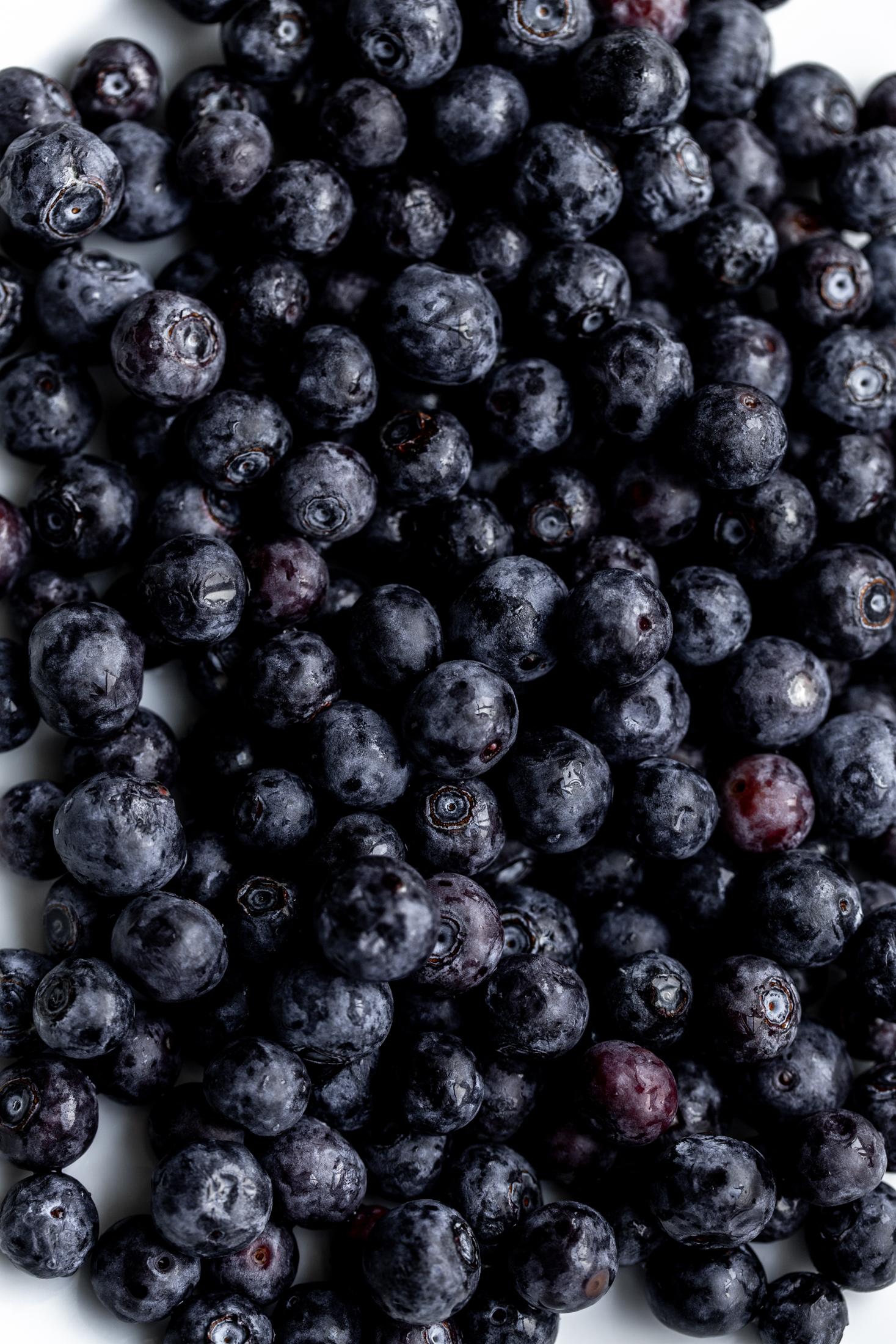 blueberries ingredient shot