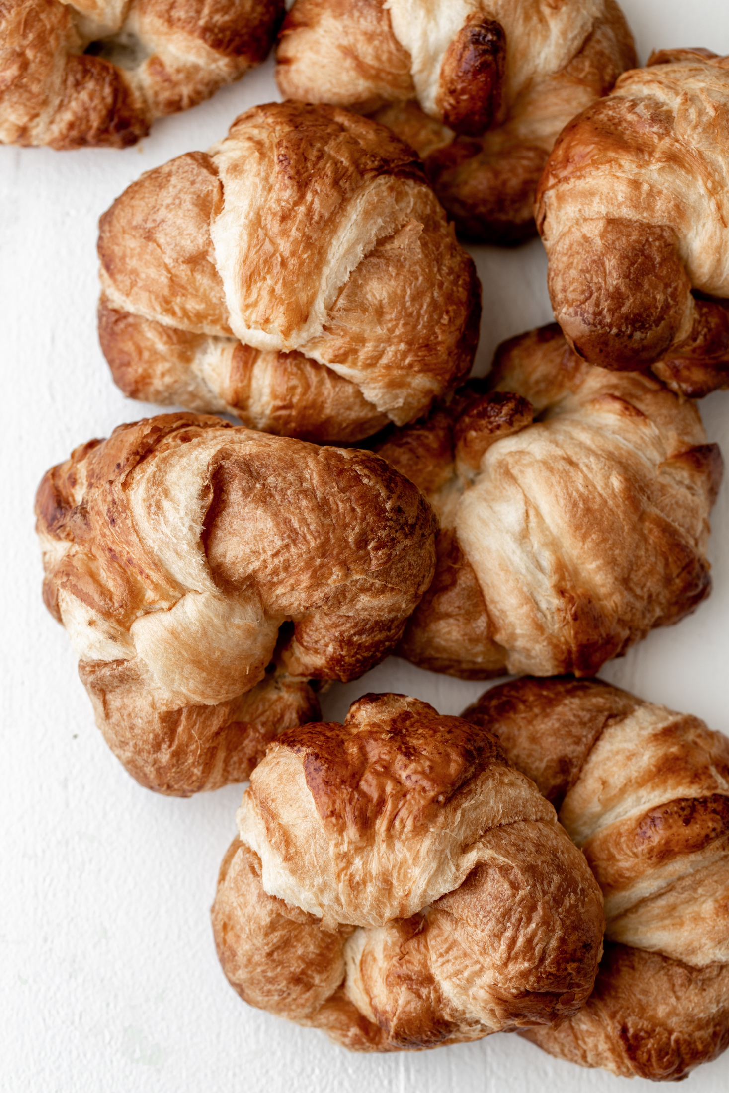 croissants ingredient shot