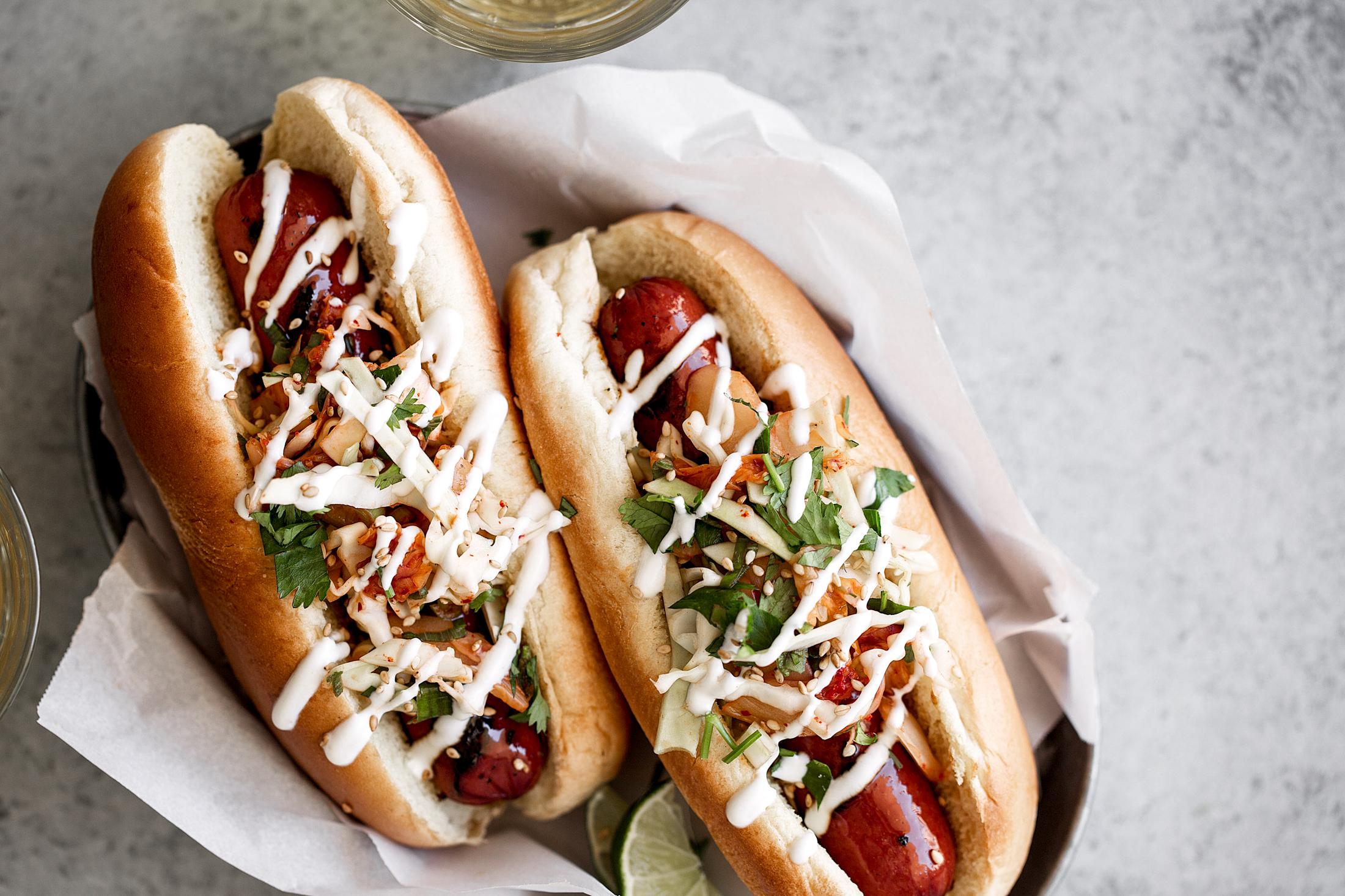 soy glazed kimchi hot dogs-4.jpg
