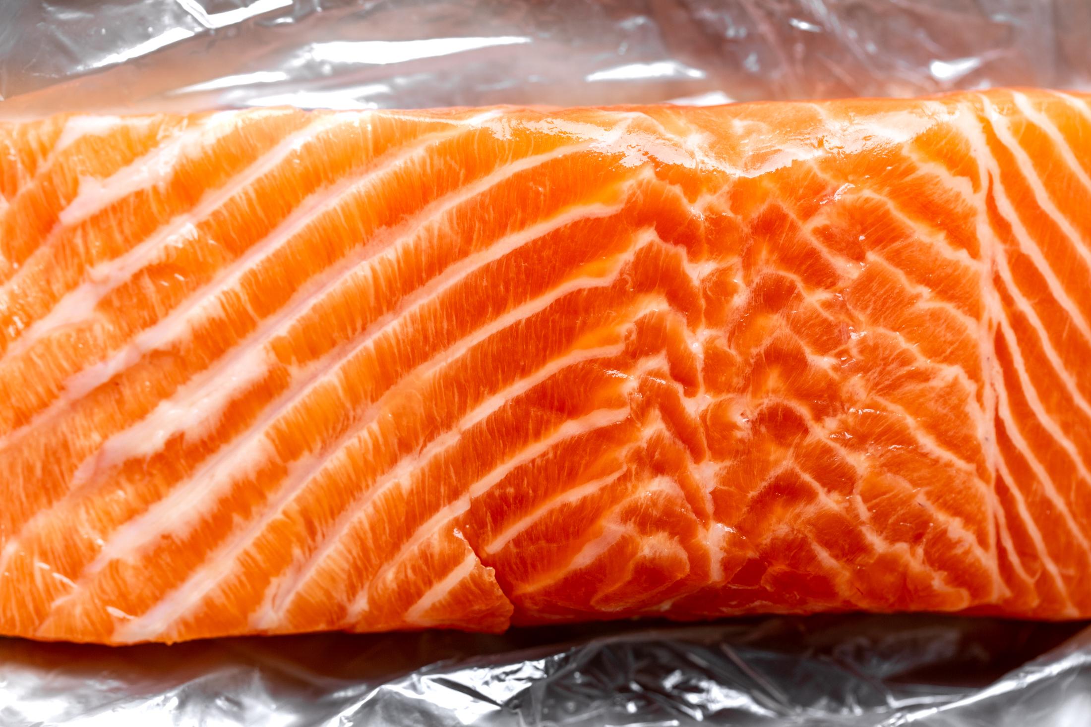 steelhead trout filet