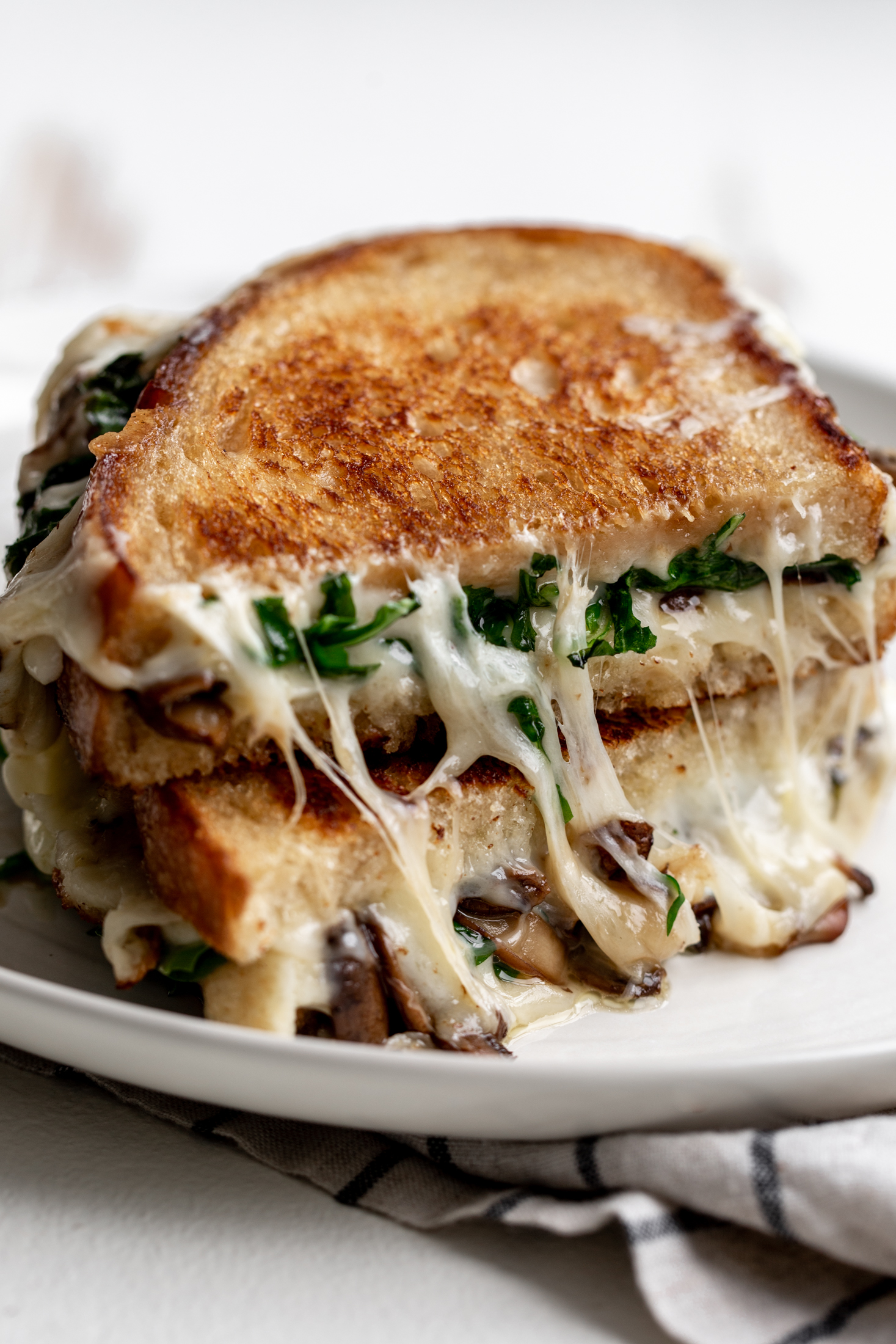 truffle grilled cheese recipe from cooking with cocktail rings