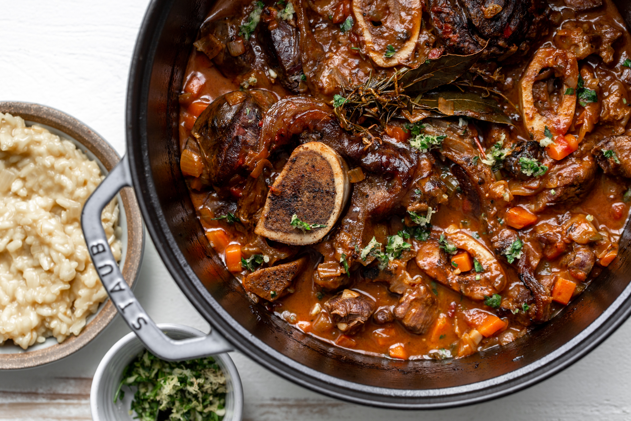 osso buco with gremolata recipe from cooking with cocktail rings