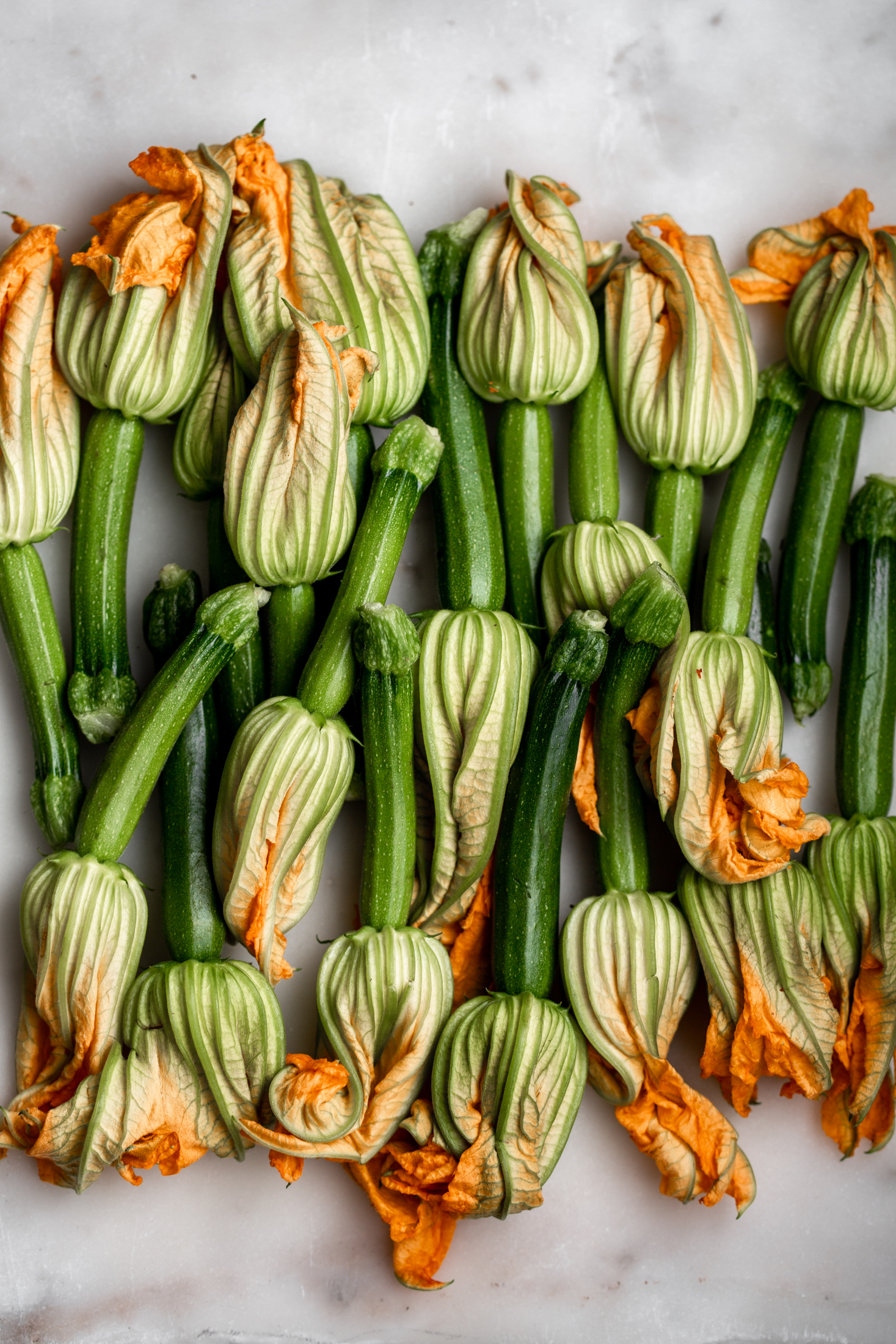 Fried Baby Zucchini with Ricotta Stuffed Squash Blossoms.jpg