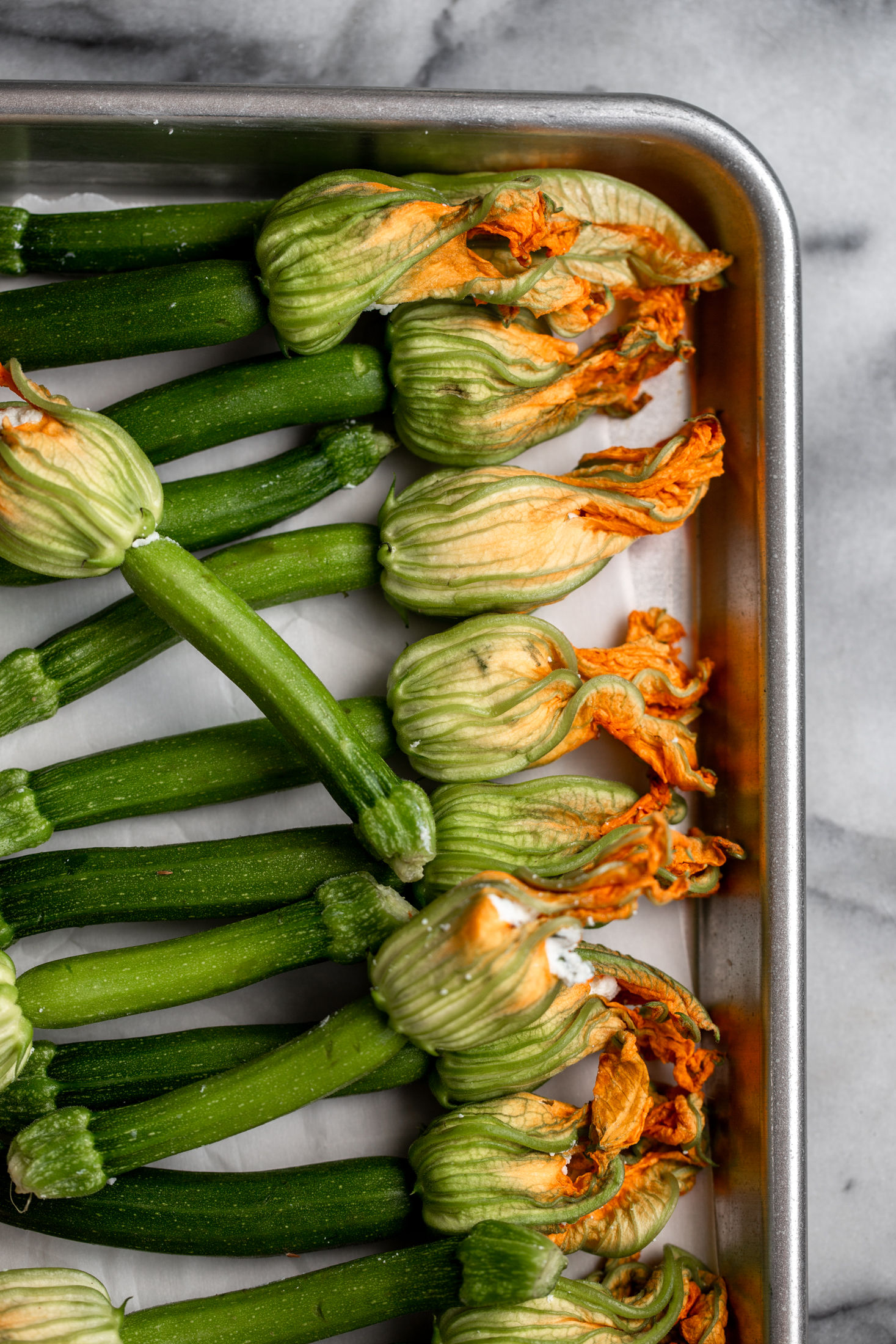 Fried Baby Zucchini with Ricotta Stuffed Squash Blossoms-6.jpg