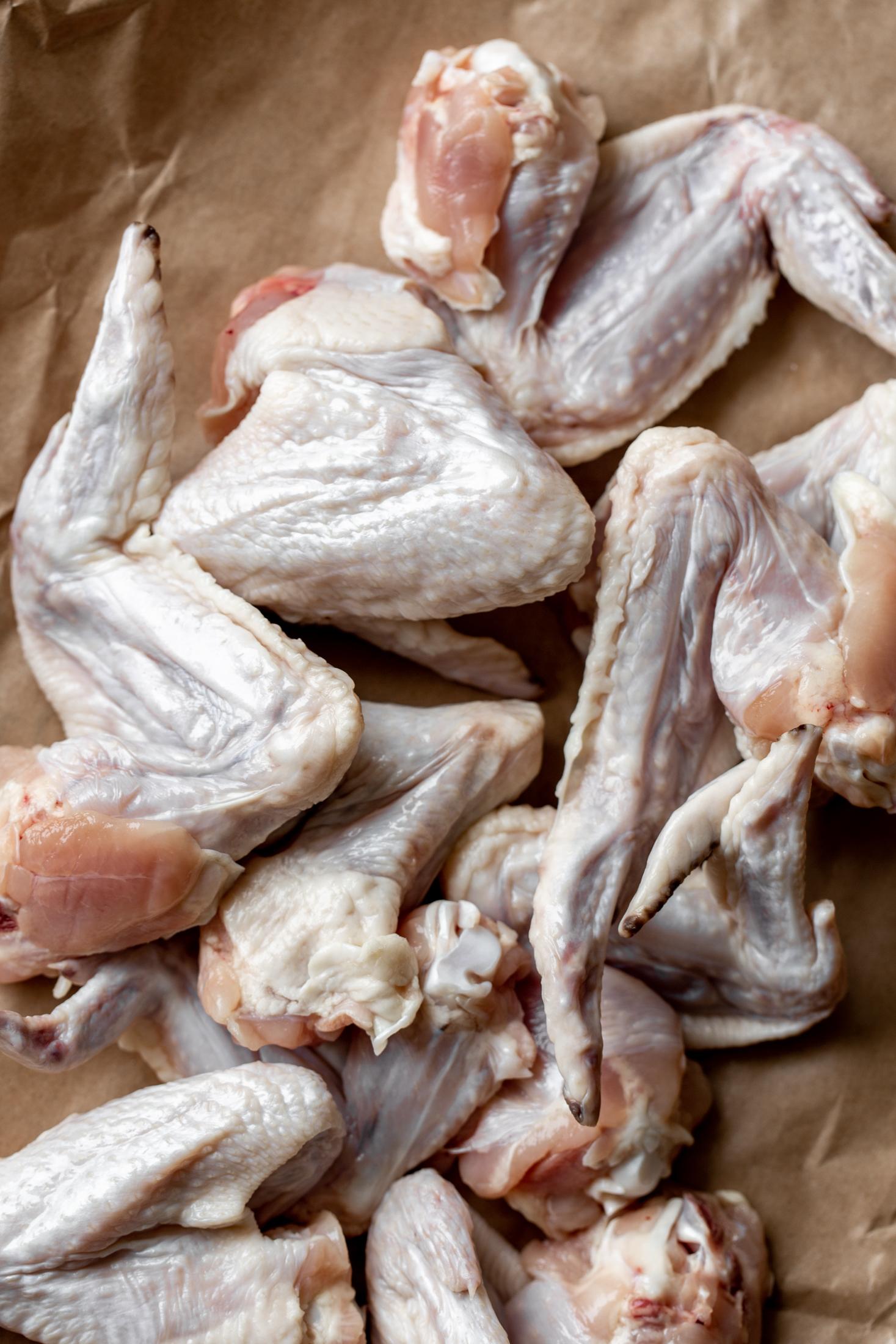 chicken wings ingredient shot