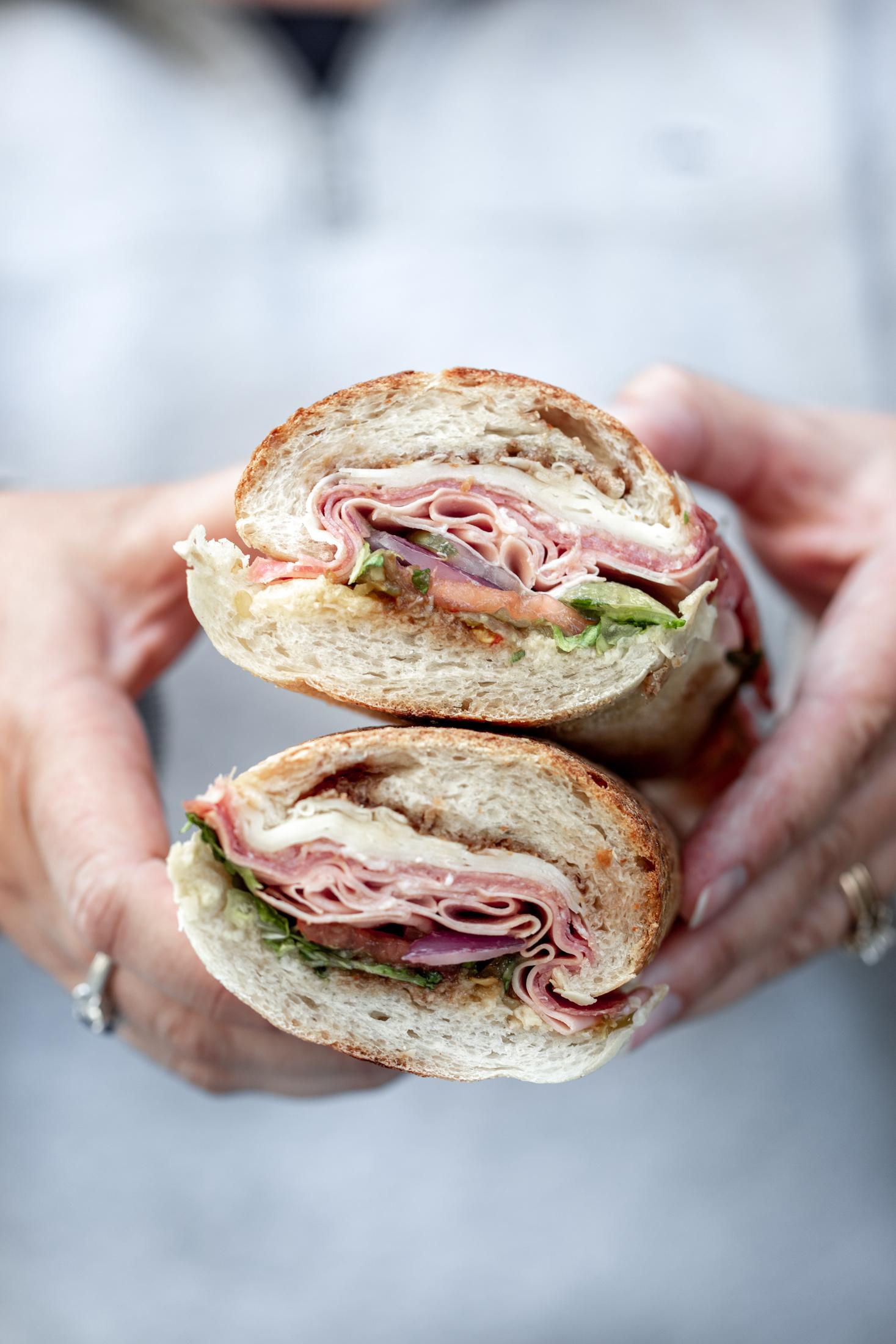 Monica's mercato north end boston massachusetts italian sandwich