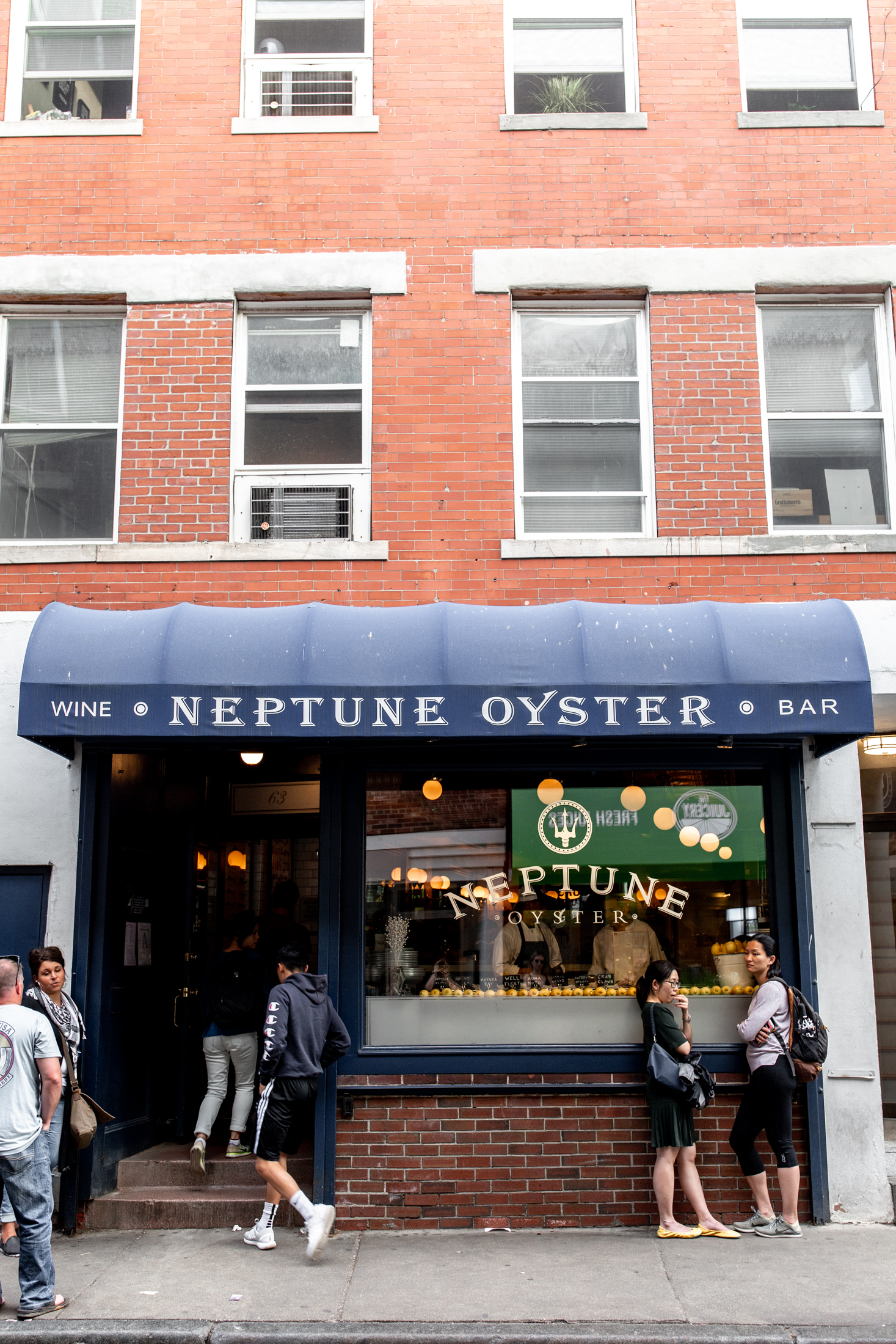 24 hours in boston neptune oyster cooking with cocktail rings