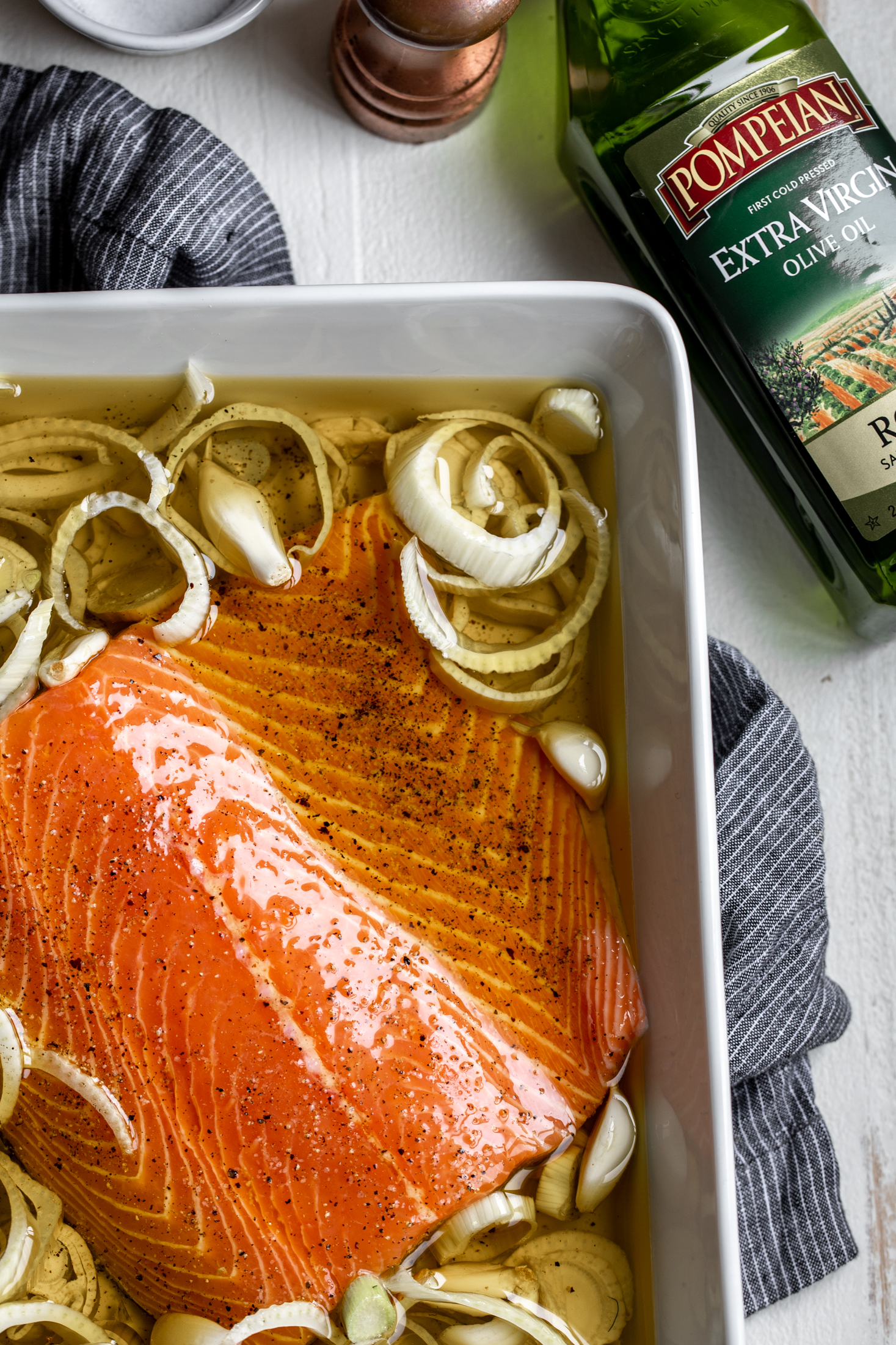Olive Oil Slow-Poached Salmon with Fennel and Lemon Arugula Herb Salad-7.jpg