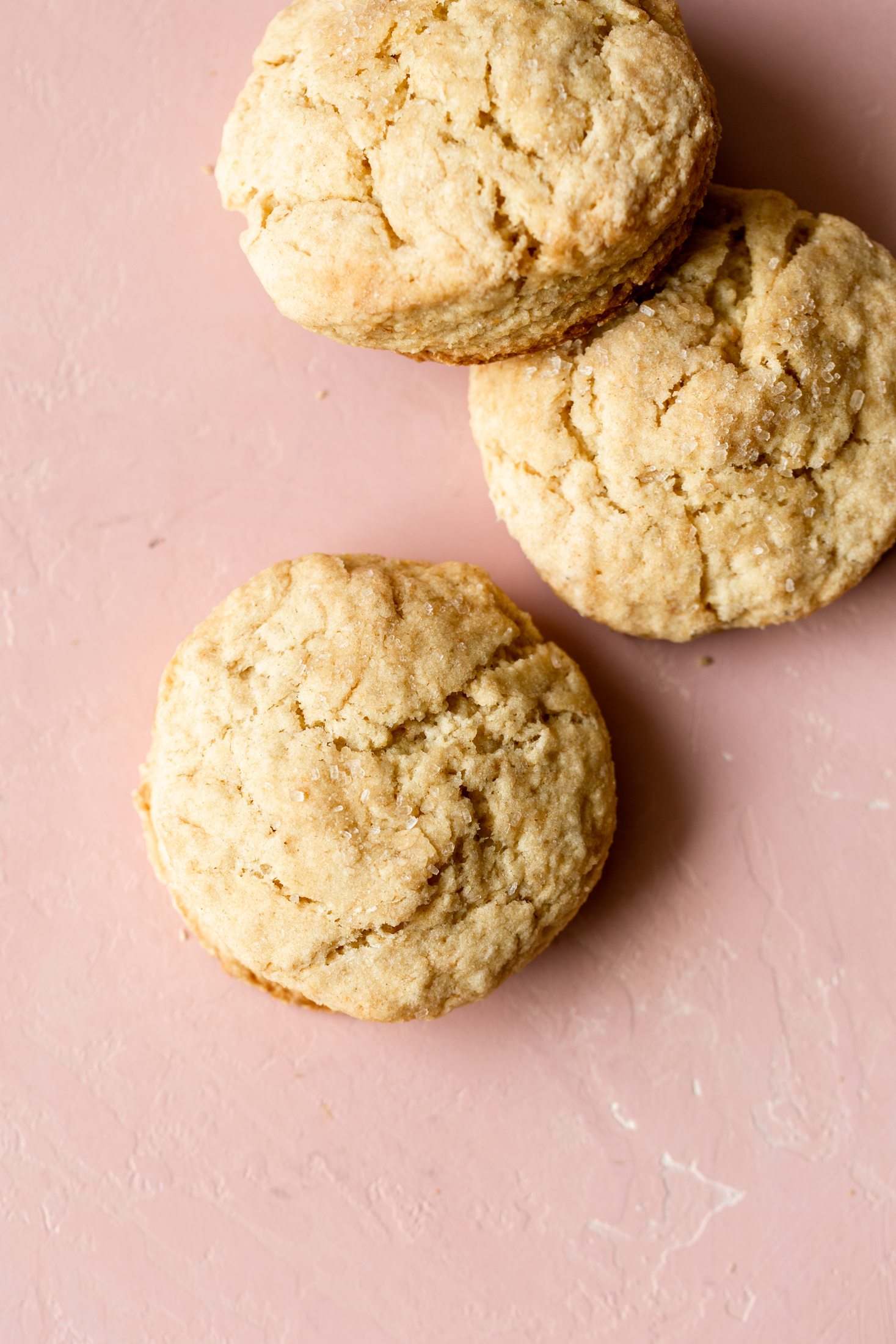 cornmeal buttermilk biscuits ingredient shot