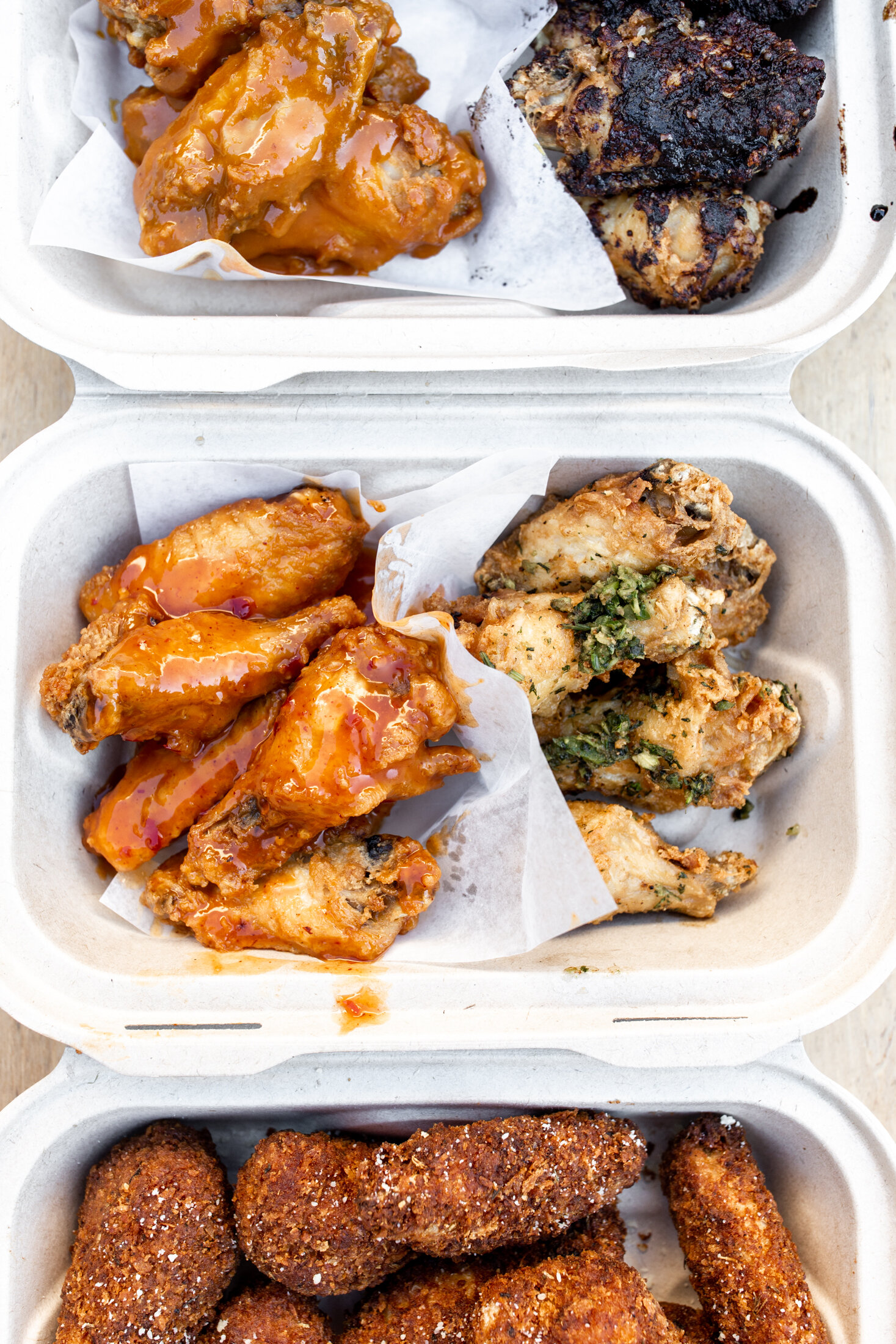 hot sauce and panko san Francisco wings for NFL game day