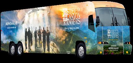 Steep Canyon Rangers Tour Bus