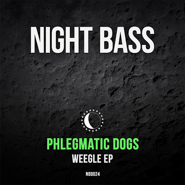 """Hailing from Moscow, the Phlegmatic Dogs bless us with a fresh dose of their unique blend of bass, garage and house music. The """"Weegle"""" EP is their 1st release on Night Bass and it's a hefty one. The title track sets it off from jump with commanding samples and driving basslines. """"Next level"""", well, takes it to the next level with the craziest bass sounds we've heard in awhile. The release is rounded off by the deep and heavy sounds of """"High Volume"""", a total neck snapper!"""