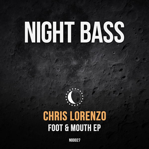 """In June 2015 we launched the Night Bass label, and that was the last time bass house pioneer Chris Lorenzo graced our catalog with his untouchable production. The badman from Birmingham finally returns to Night Bass with two relentless, high-energy heaters. """"Foot & Mouth"""" conjures uncontrollable desires to reload with it's neck snapping bass, and shells continue to fly with the bass-face inducing """"Nightmares""""."""