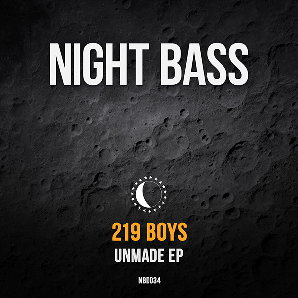 "San Francisco's 219 Boys have been featured on ""This is Night Bass"" and now they've landed their first EP on Night Bass. ""Unmade"" is a collection of various influences artfully melded into their own unique sound. The EP kicks off with ""FYOF"" a dark G-House bouncer with a cheeky sample. ""Unmake"" takes it further into heavier and darker territory while ""Risk"" leans into a more tech house sound. There is definitely something here for everyone from the 219 Boys."
