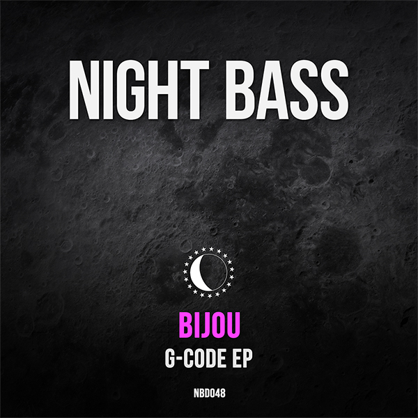 """One of the hardest working producer/DJs in North America has to be Phoenix's very own BIJOU. This guy has been releasing loads of music on some of the best labels and smashing gigs at clubs and festivals across the country. He's released several songs on our compilations, so we are very happy to have his first Night Bass EP locked in. """"G-Code"""" is loaded with 4 dark, bass-driven dance floor heaters ready to get people jumping. Don't sleep on this one!"""
