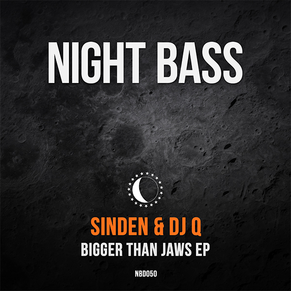 """What happens when two UK legends team up to do an EP on Night Bass? You get the """"Bigger Than Jaws"""" EP. We couldn't be more happy to have original bassline don DJ Q and fidget house pioneer Sinden on Night Bass together with the down and dirty two-tracker. """"Bigger than Jaws"""" kicks off without holding back at all, haunting bells lead into a vocal warning of whats to come: a floor crushing bassline. The flip side """"Time to Test"""" keeps the energy going way up in a more housey and jackin' direction."""