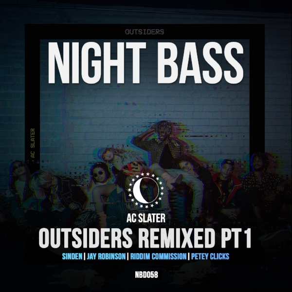 After the release of AC Slater's huge debut album Outsiders last year, we called upon the Night Bass crew to bless us with remixes of the LP. We'll be releasing these in batches. For the first collection we've got epic remixes from Sinden, Jay Robinson, Riddim Commission and Petey Clicks.