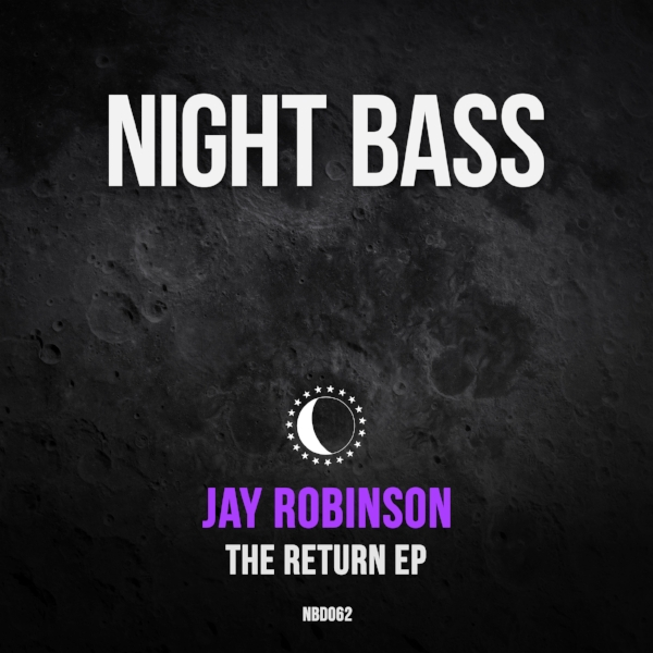 """The prolific Jay Robinson is back with his 5th Night Bass EP, a next level four-tracker that pushes his sound forward. """"The Return""""kicks off with the title track, a chunky uplifting bass house stomper. Jay gets help from Bristol badman Dread MC on the heavy bass driven song """"The Ripper"""". The quirky and techy """"Falling Upwards"""" brings a nice dark edge, and """"The Melodic Weapon"""" rounds out the EP on an uplifting note."""
