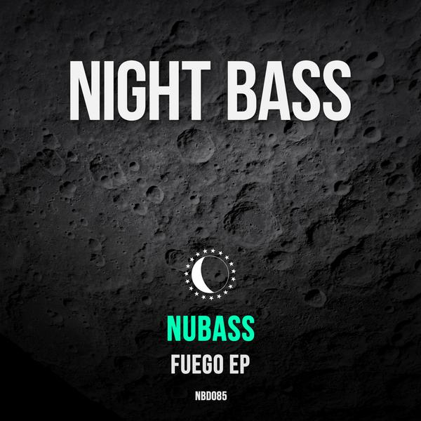 "We introduced NuBass via our Night Bass Freshmen Vol 1 and now we're thrilled to debut his ""Fuego"" EP, a hearty 4-tracker that's sure to bring on the heat. The driving, dark 4x4 bassline on his title track ""Fuego"" sets the tone for one bass-heavy EP. His collaboration with Hot Goods on the next track ""Dead Prez"" offers some inspiring subliminal vocals and his 3rd track featuring Purple Velvet Curtains brings an up-tempo garage-tinged beat. The EP is rounded off by ""Trippin',"" bringing a nice dark edge followed by a ferocious drop."