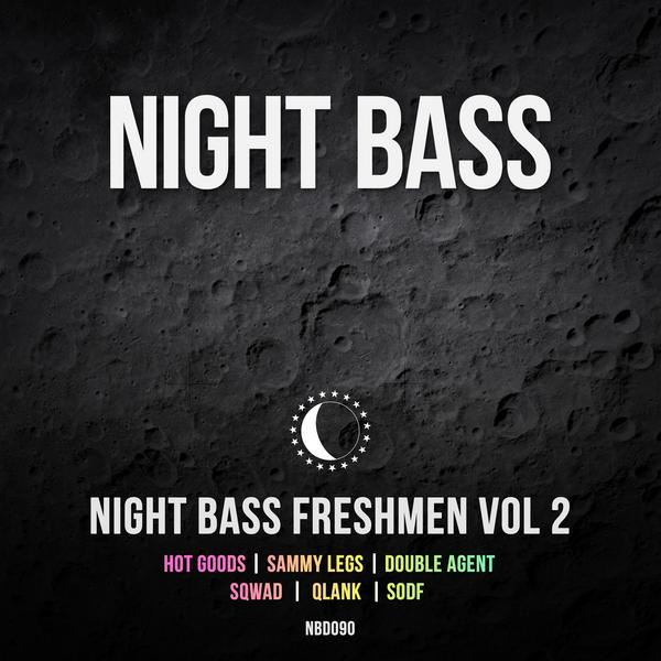 We've got a whole new class of Night Bass freshmen for you, this time presenting a variety of amazing work from Hot Goods, Sammy Legs, Double Agent, SQWAD, Qlank & SODF. Freshmen Volume 2 is a nice blend of different genres from a diverse group of artists. From techno to garage to house music, this EP is full of undercover bangers. Welcome to the Night Bass Fam, Freshmen!