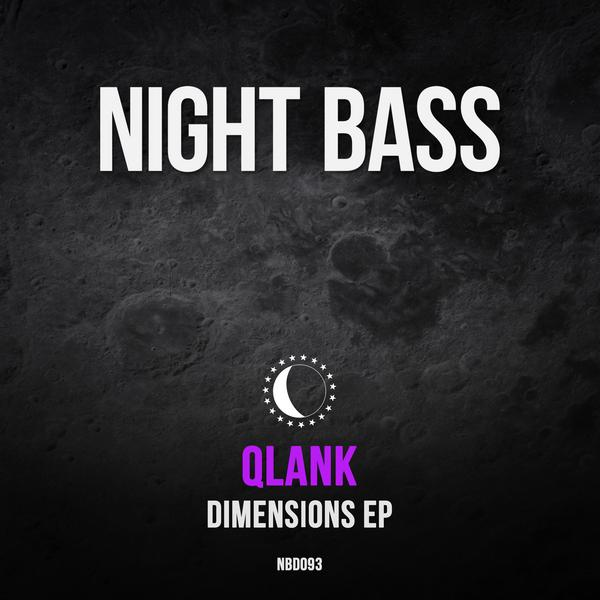 "We've had our eyes on this guy for a while. Qlank came to Night Bass first on Freshmen Vol 2 & hits us now with his 'Dimensions' EP. LA-Based Qlank defies all odds & carries the beat seamlessly, juxtaposing trance-like rhythms against the deep, bass-heavy drop on ""I Got"". The anticipation builds on 'Dimensions', showcasing a suspenseful intro that leads into a drop that sends you to another dimension. The EP ends on a smashing note with another bass-heavy beat & catchy vocals in 'Keep It Down' collab with Madly. These are some of craziest bass heavy sounds we've had in a while, welcome to the fam, Qlank."