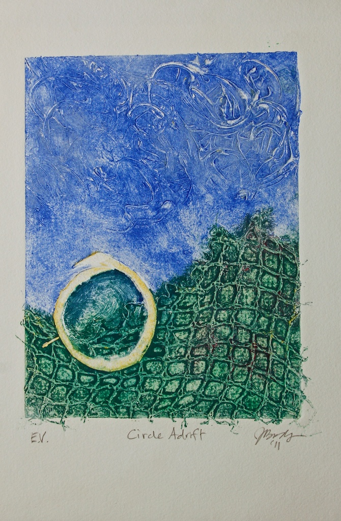 Collagraph  by Jo Brody