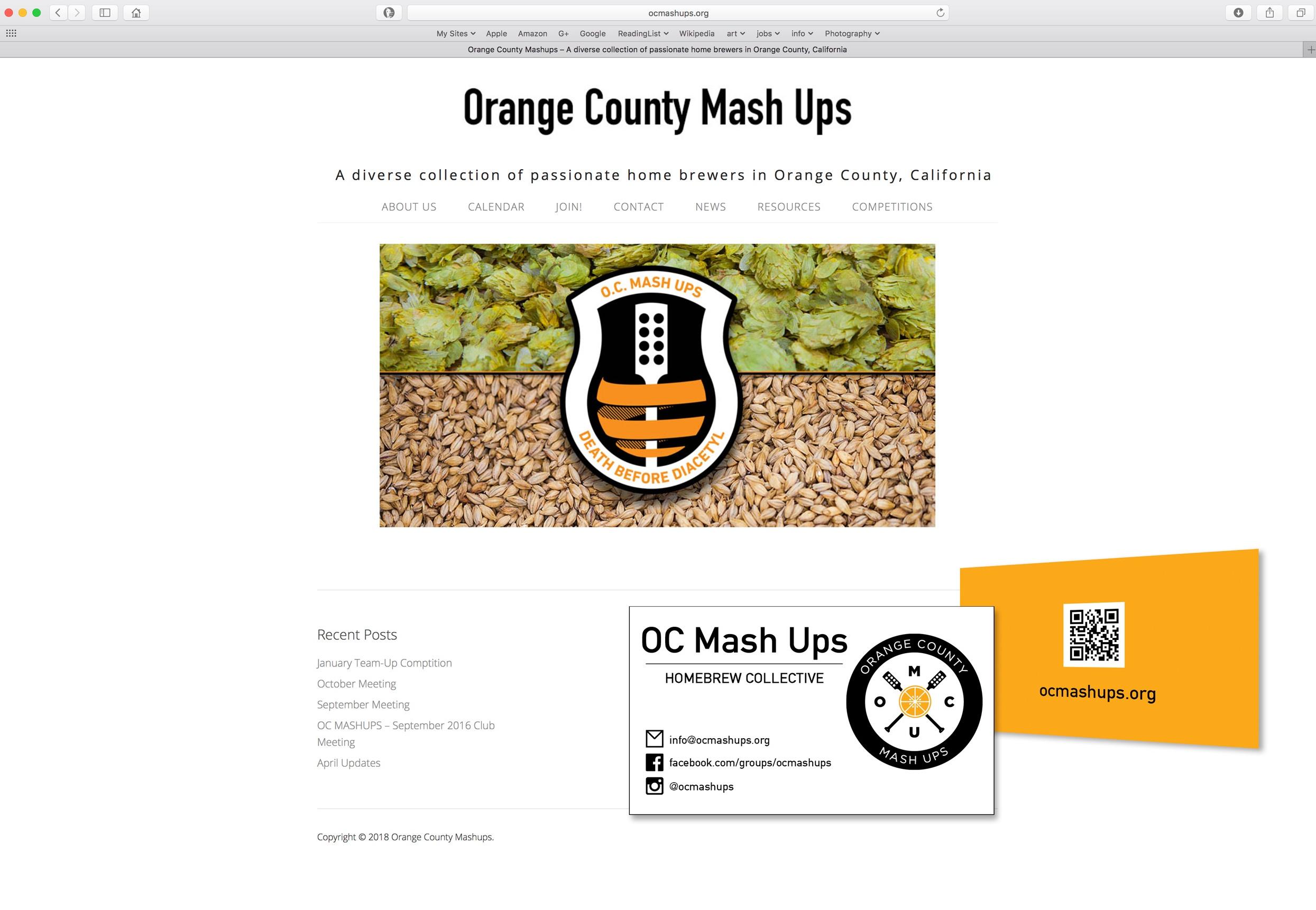 Web Site & Business Card