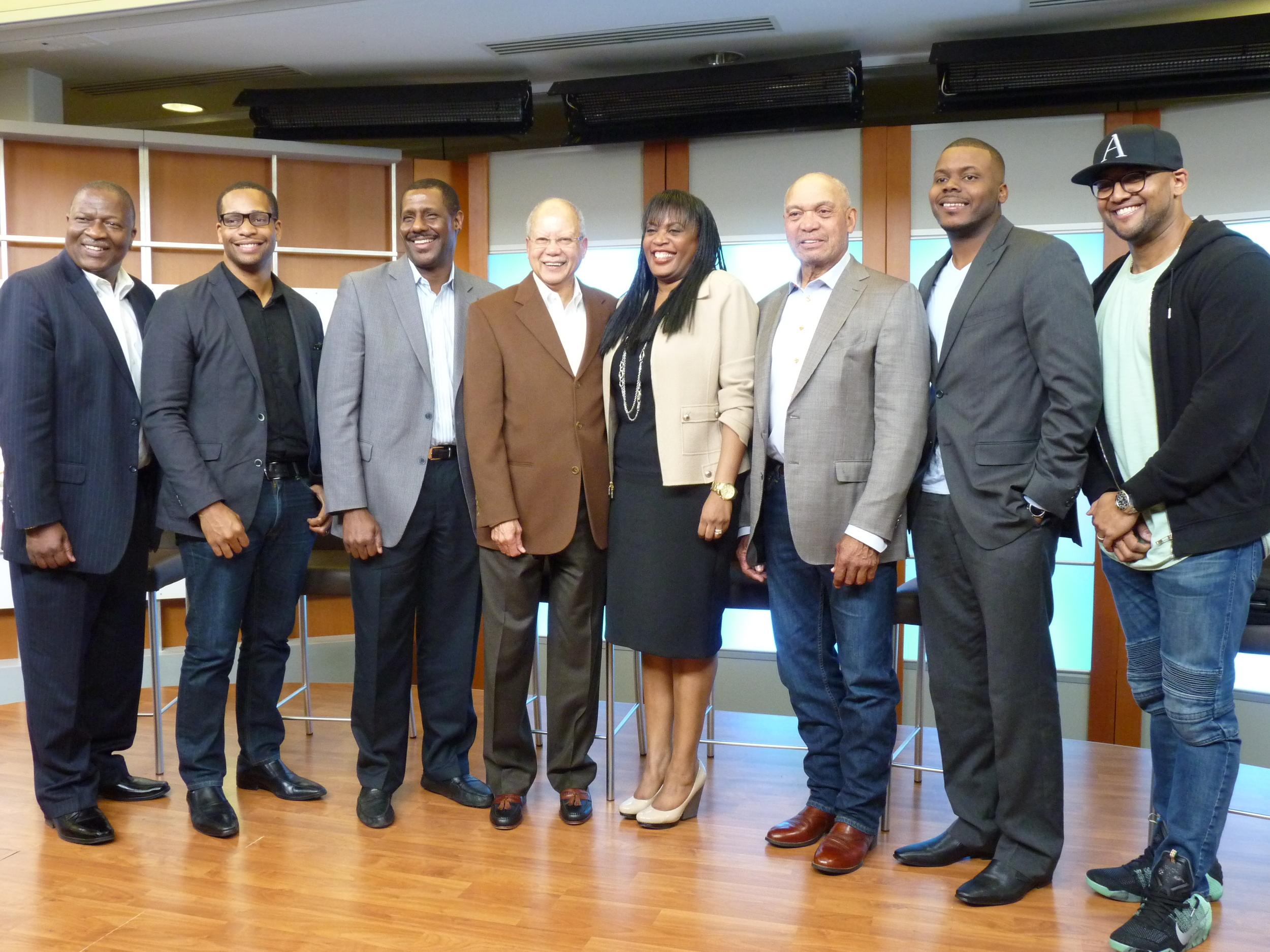 SAP panel discussion participants.