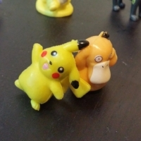 Pikachu and Psyduck