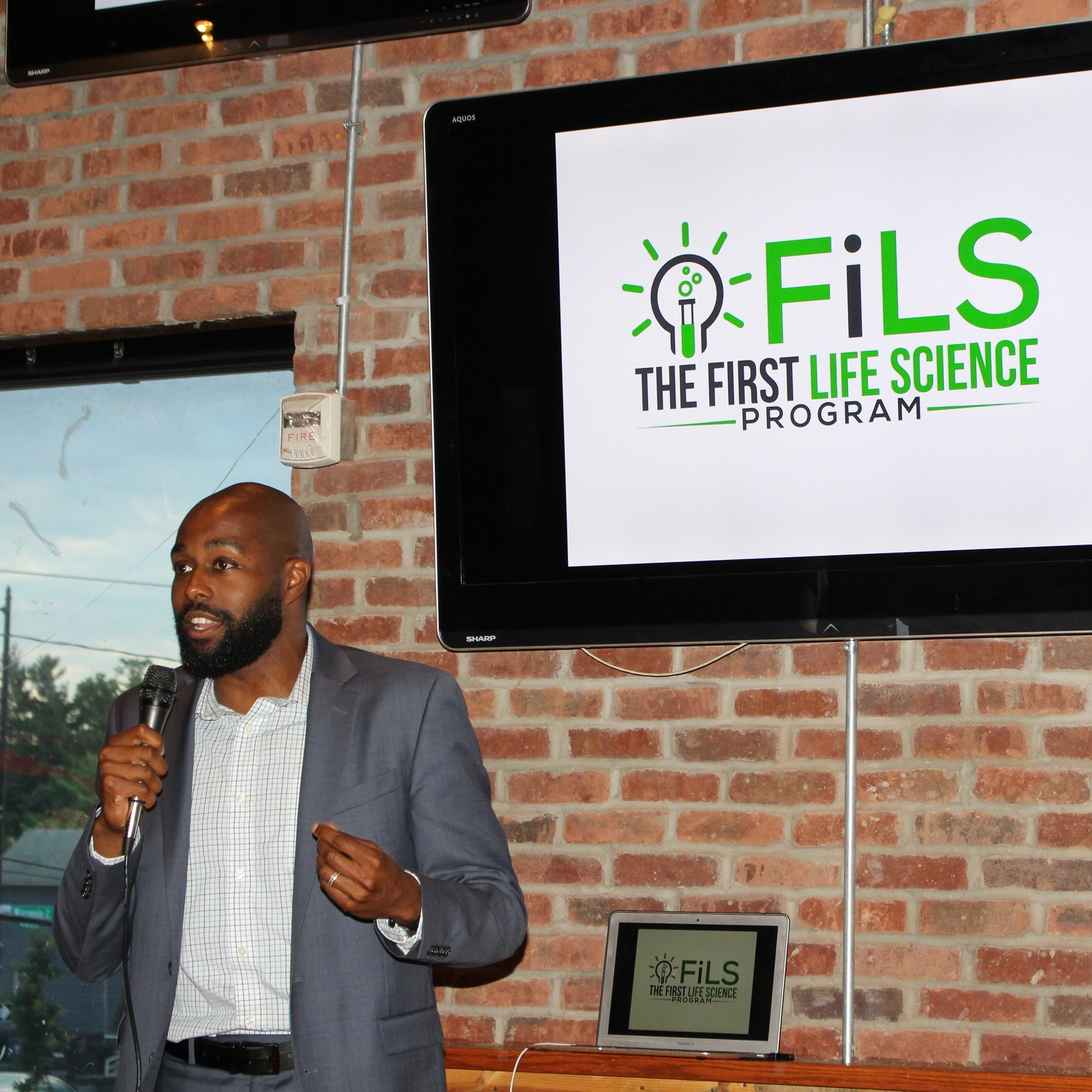 FiLS founder and director Dr. Christopher Williams