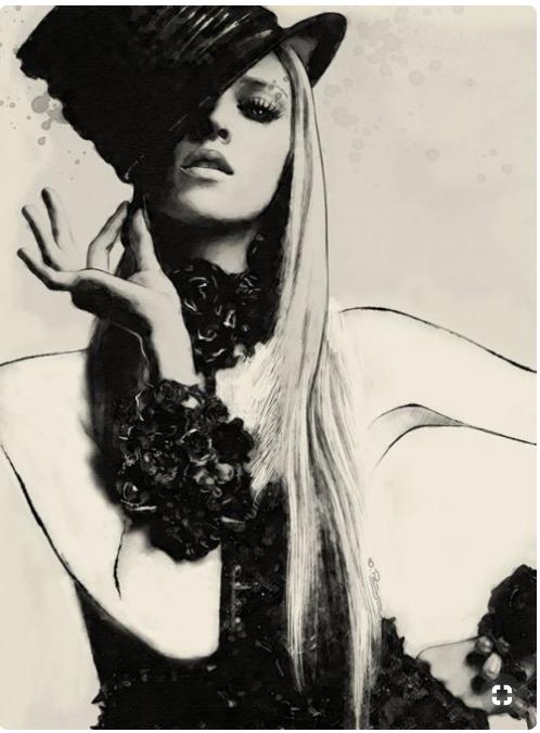 Photo by Greg Kadel, Model Anja Rubik