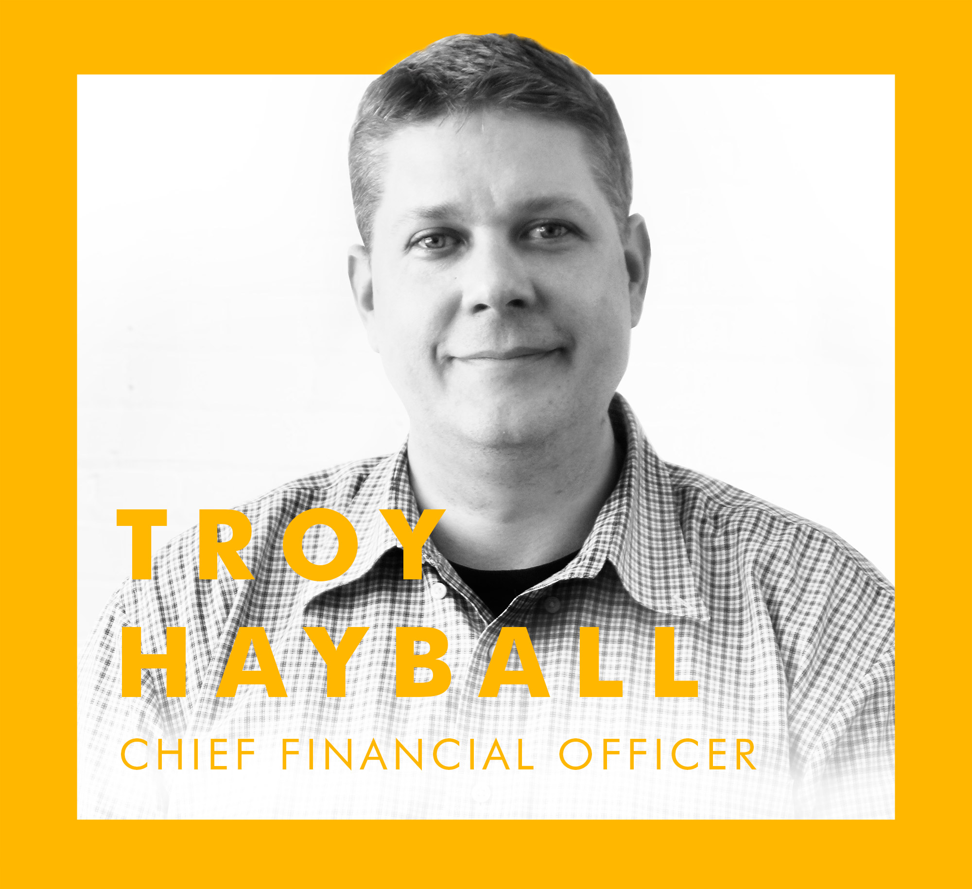Don't let that friendly smile and demeanour fool you, our  Chief Financial Officer  runs our finance and ops departments with an iron fist, keeping us, and our clients, on top of the numbers.