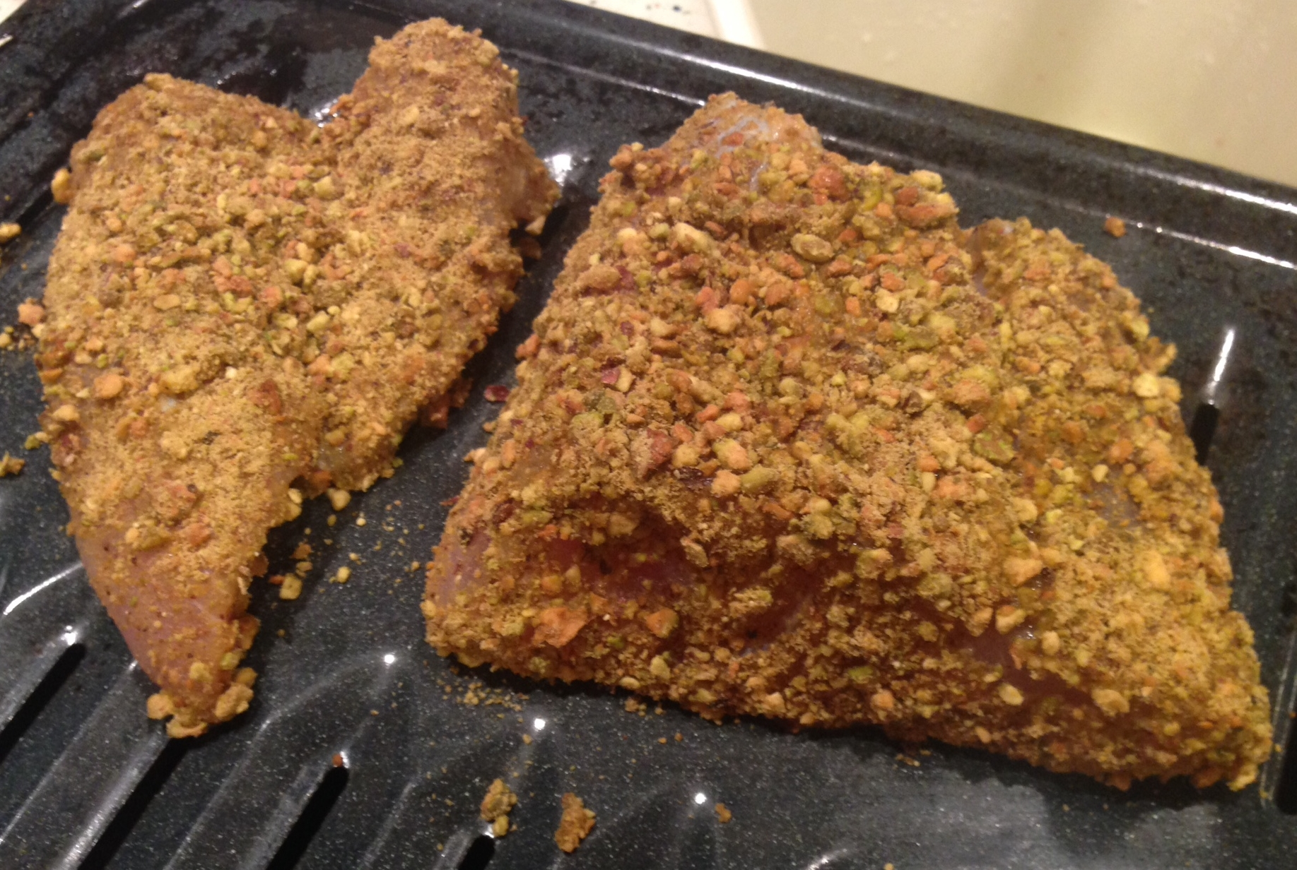Crusted and Ready for the Oven!