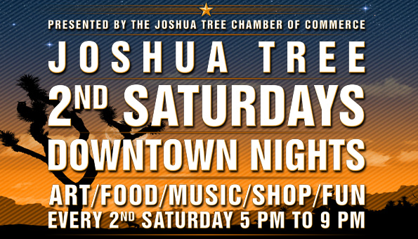 2nd Sat Nights - JOSHUA TREE 2nd Saturday Nights.. Downtown Joshua Tree, BEATNIK, Joshua Tree Art Gallery (JTAG), the Listening Lounge, Grateful Desert Herb Shoppe, BKB Ceramics, Pie for the People, the Joshua Tree Saloon, and more for the Joshua Tree 2nd Saturday night of the month . From 5:00 PM to late…