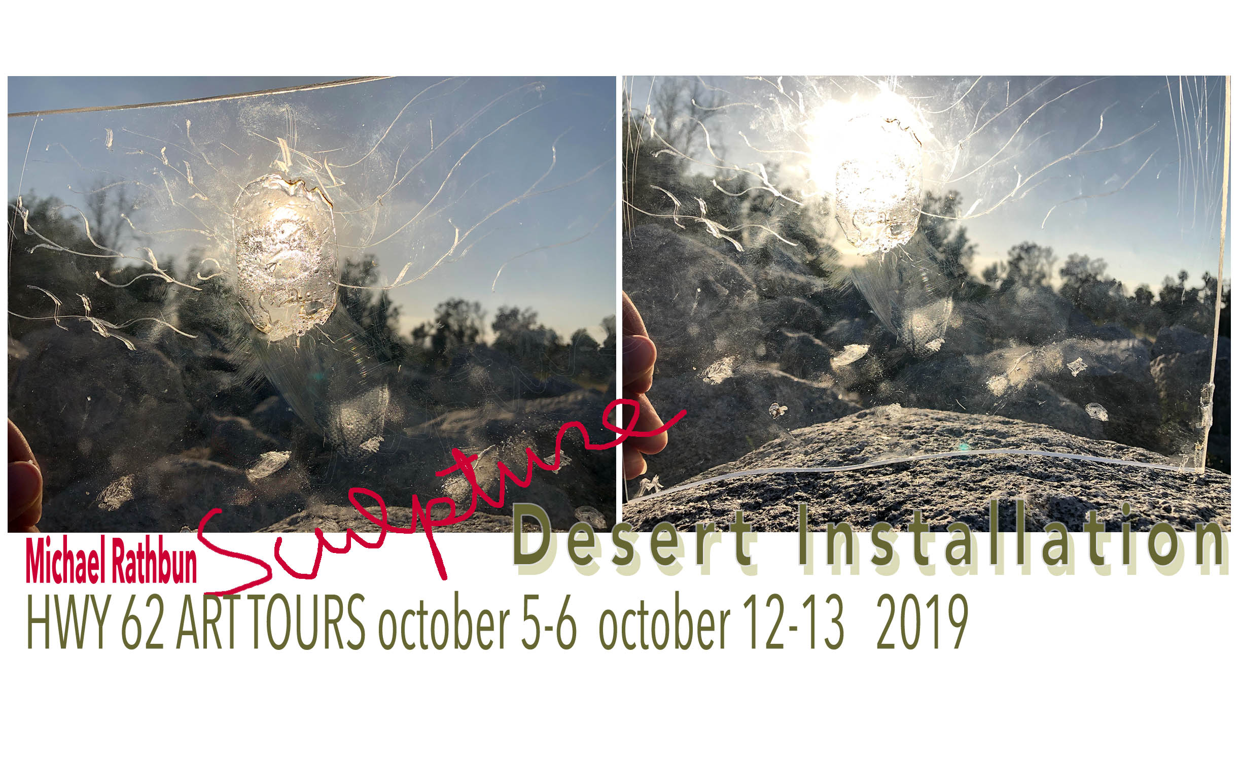 MIchael Rathbun 2019 Artist in Residence Hwy 62 Art Tours Oct 5-6, Oct 12-13, 2019