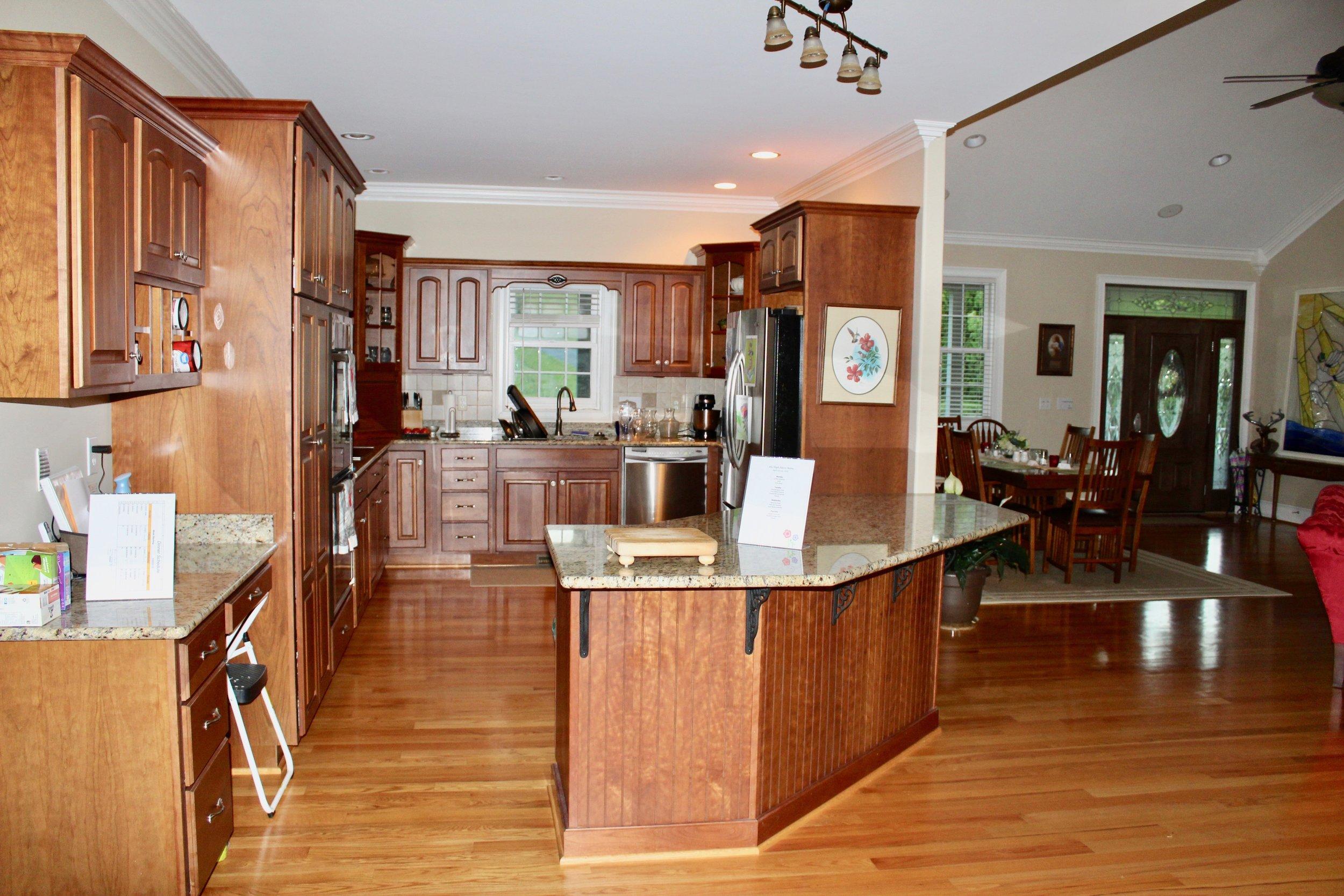 Full kitchen available.
