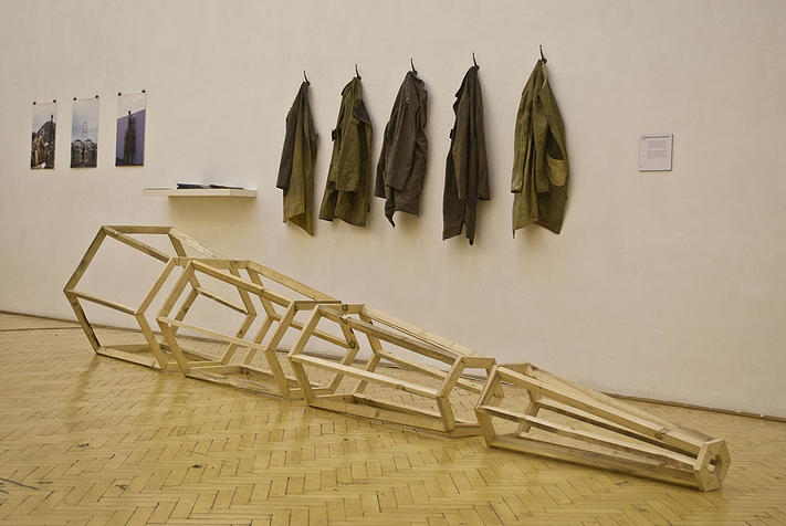 Project Exhibition in Barscay Hall, Budapest, Hungary.