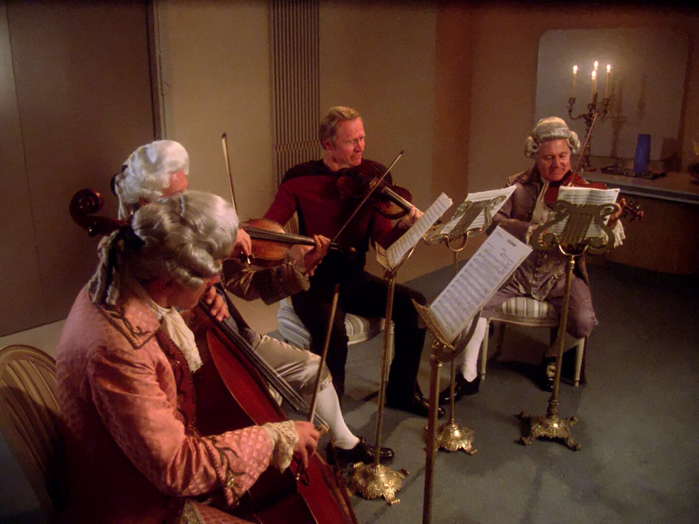 """A fantasy concert for a crew member of the Enterprise from """"Star Trek: The Next Generation"""" season one episode """"Where No One Has Gone Before."""""""