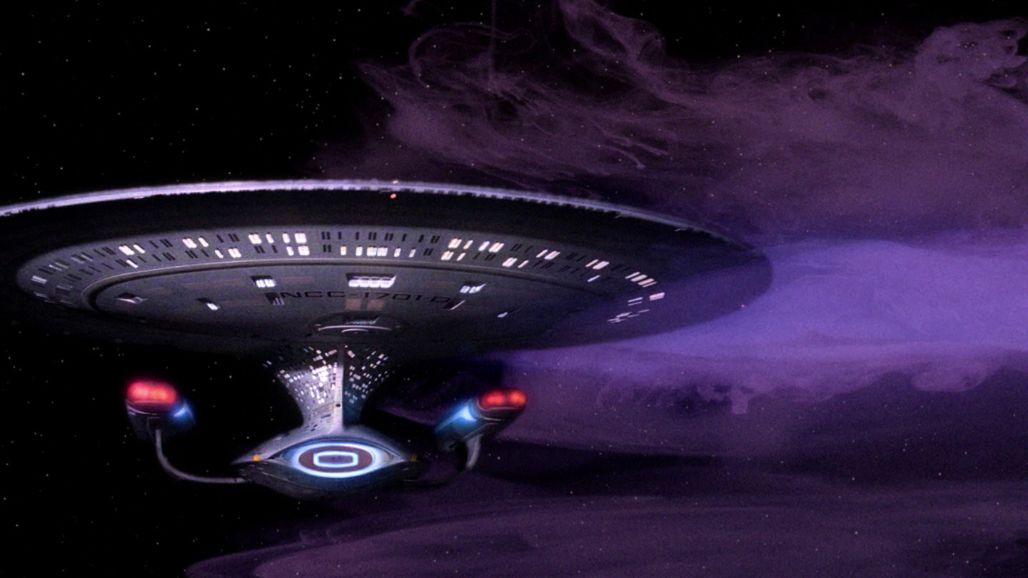 The Enterprise passes by an energy cloud and gets more than it bargained for.