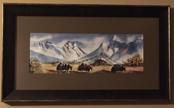 Nepal painting