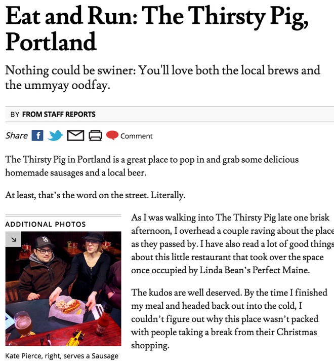 Eat and Run- The Thirsty Pig Portland_121511.jpg