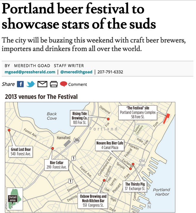 Portland beer festival to showcase stars of the suds