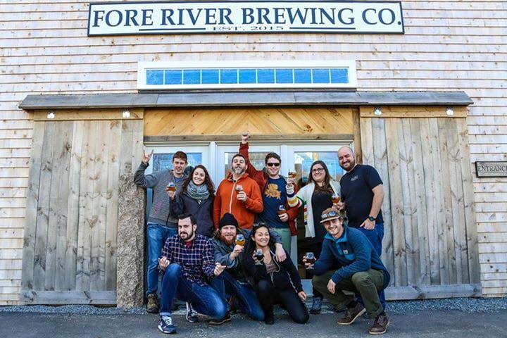 Pig Crew with Fore River Co-owner  John  LeGassey and Vacationland Rep John Squadrito.
