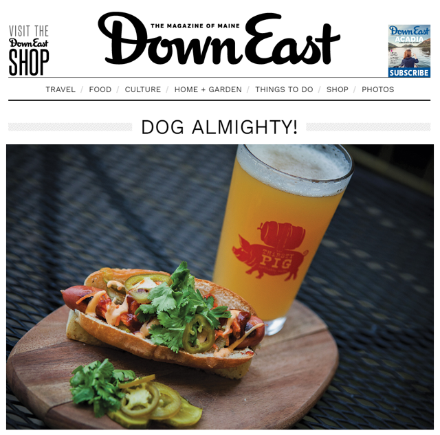 DownEast Magazine: Dog Almighty!