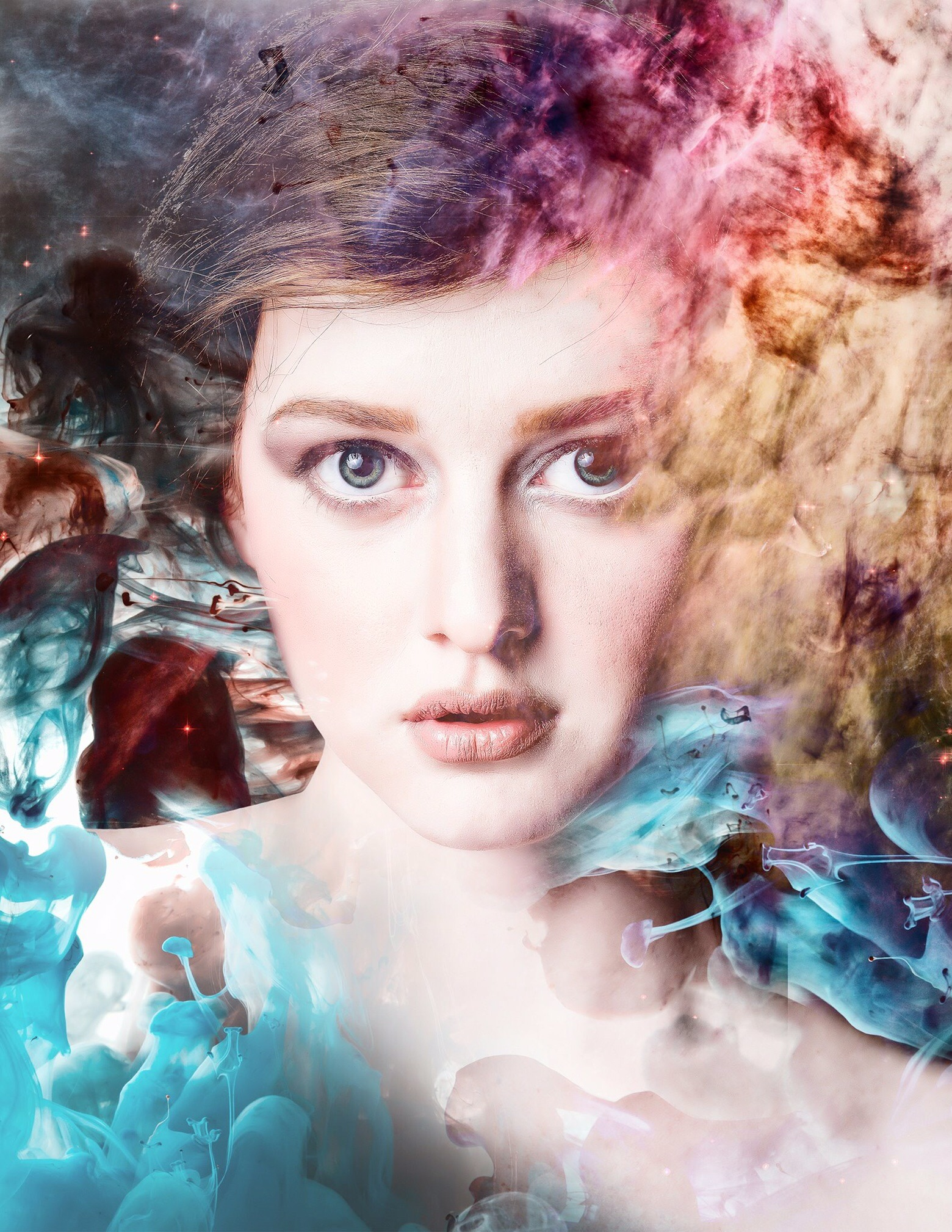 TURBULENCE featuring model: Enry with hair and makeup by Elena Ismail