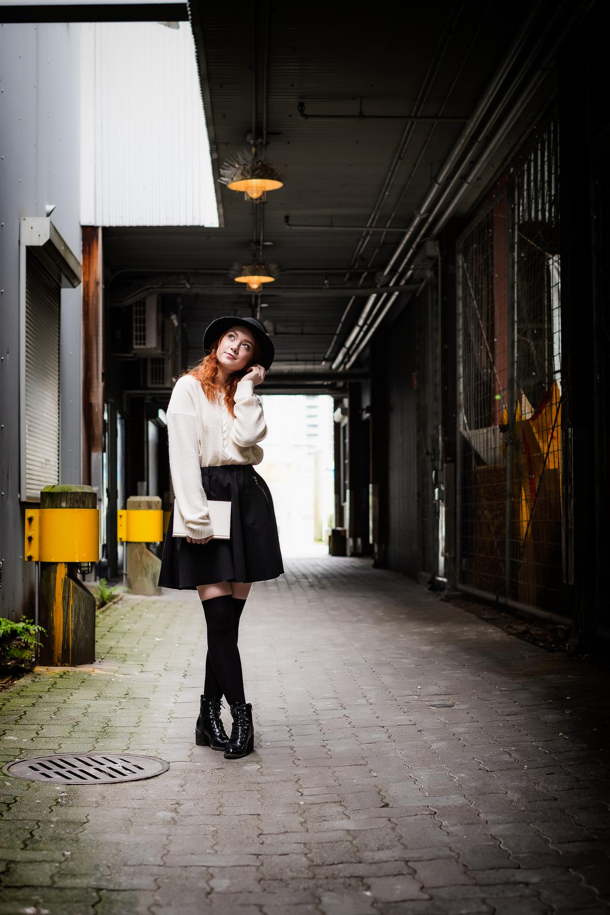 Model: Rachel Sargeant | Hair and makeup: Evelyn Affleck