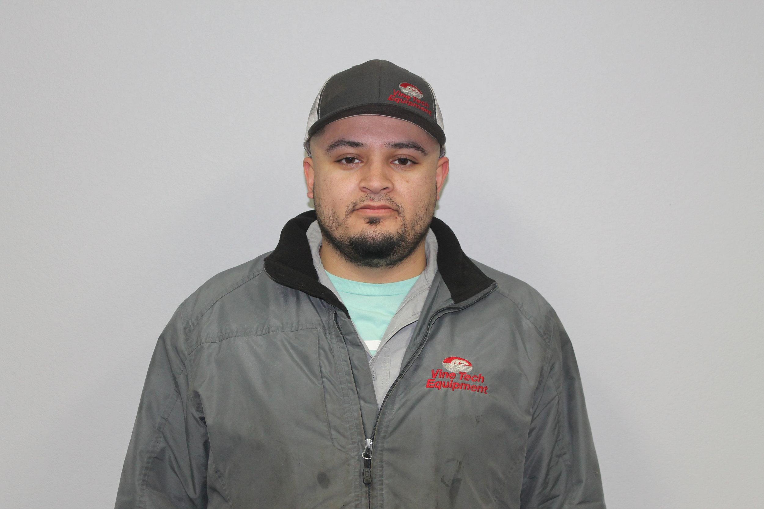 Marco Razo  parts Manager  MARCO@VINETECHEQUIPMENT.COM