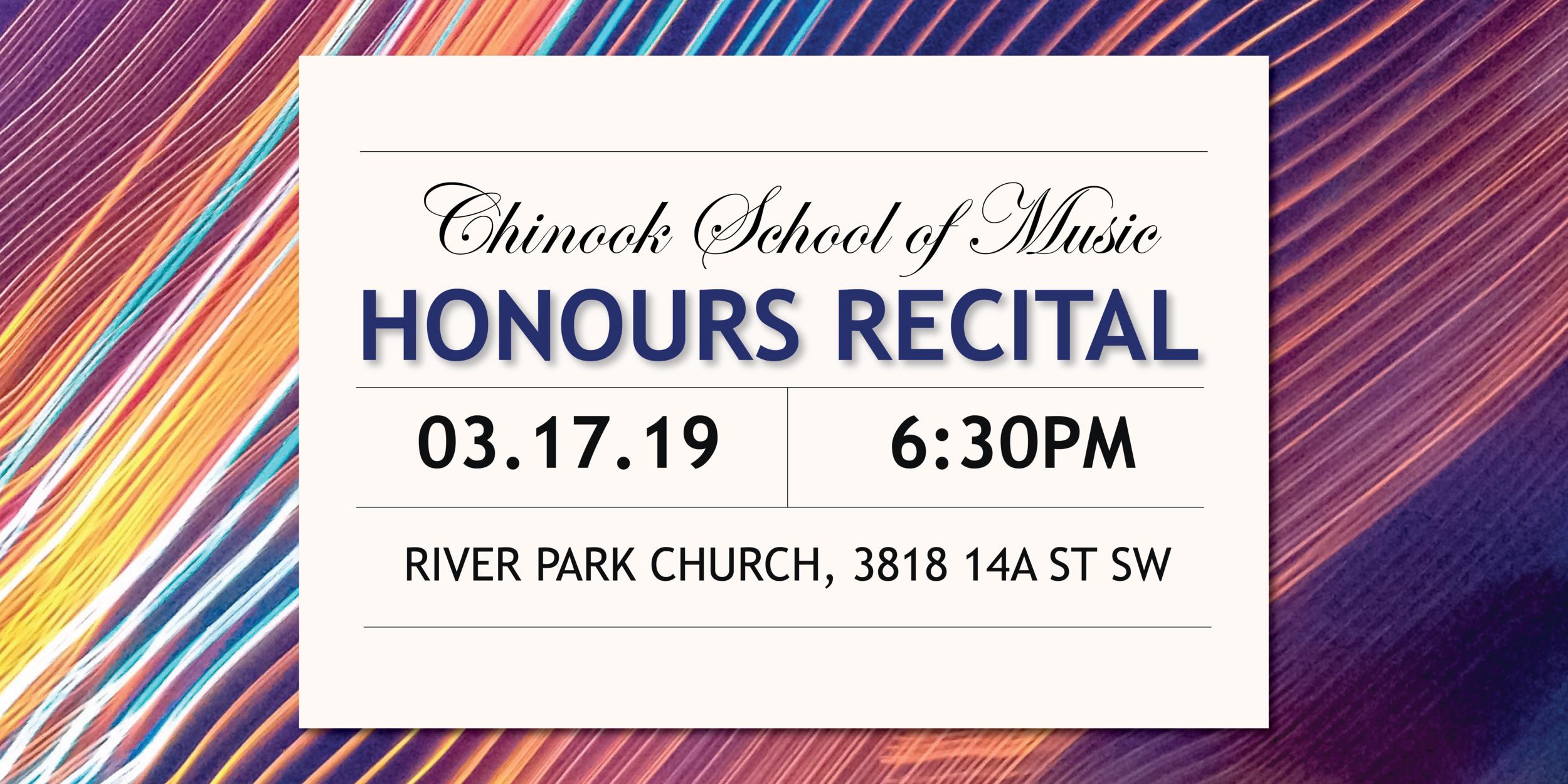 Student Honours Recital