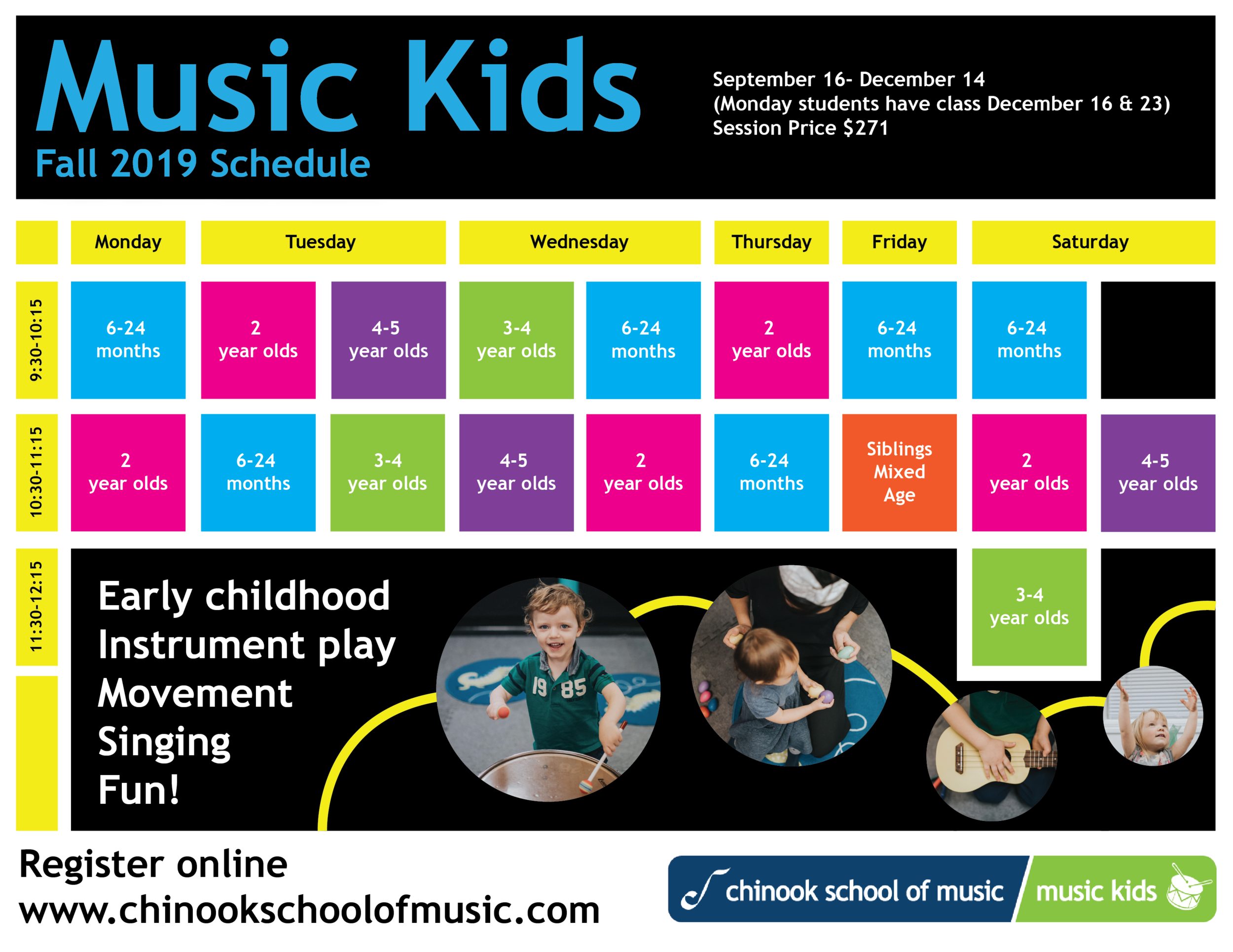 Music Kids Ages 0-5