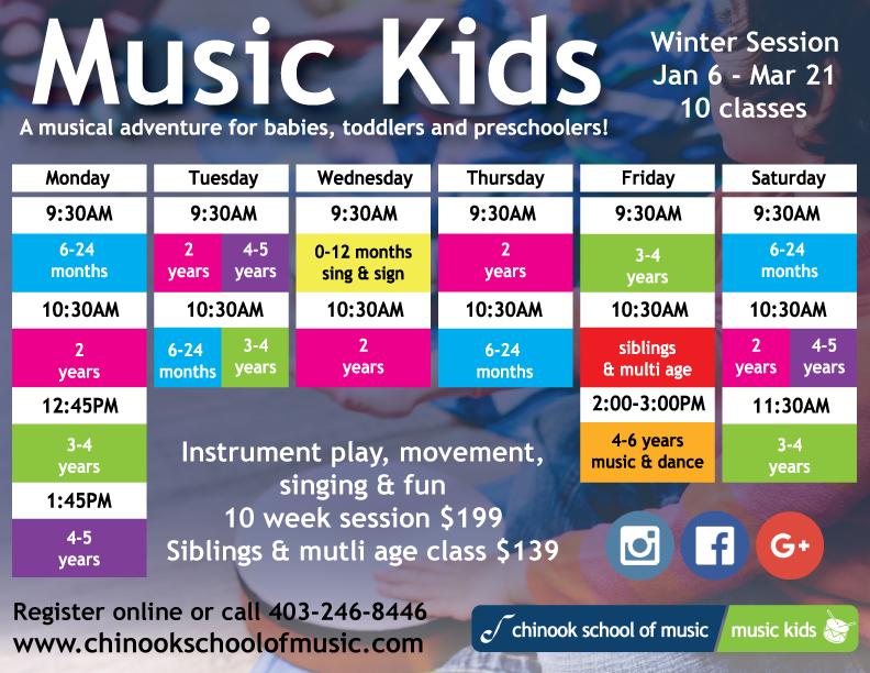 Music Kids Winter Session 2020